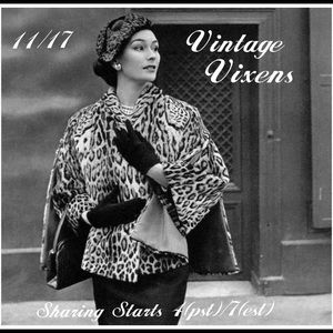 Jewelry - TUESDAY 11/17 Vintage Vixens Sign Up Sheet
